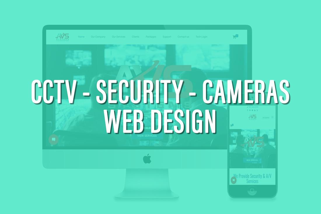 CCTV - Security Company Web design