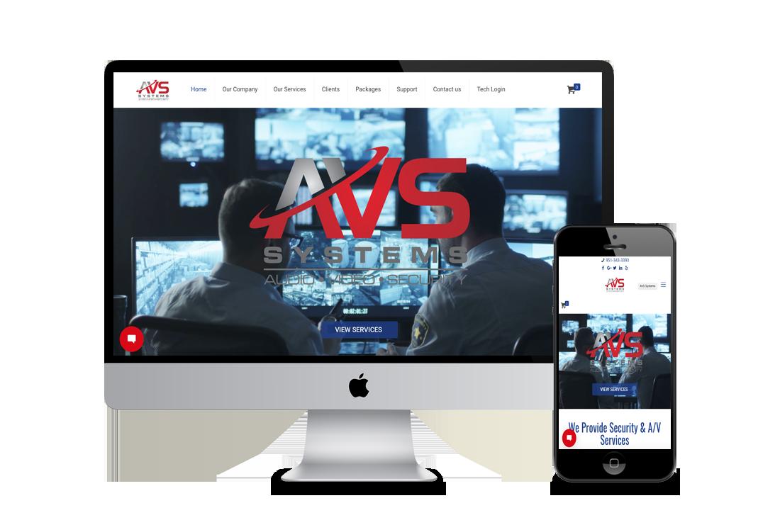CCTV & Security Web Design