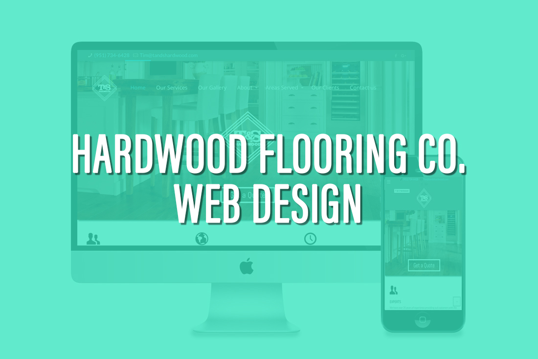 Hardwood FLooring Company Web design
