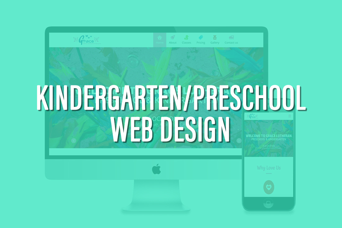 Kindergarten Web design
