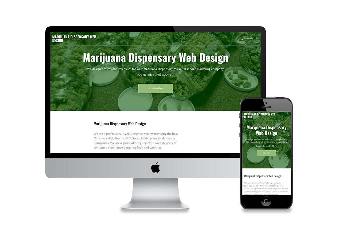 Marijuana Dispensary Web Design California Dispensary California Advance Your Placement