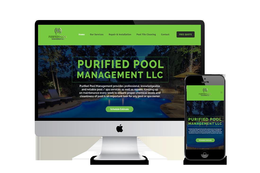 Pool service web design corona ca