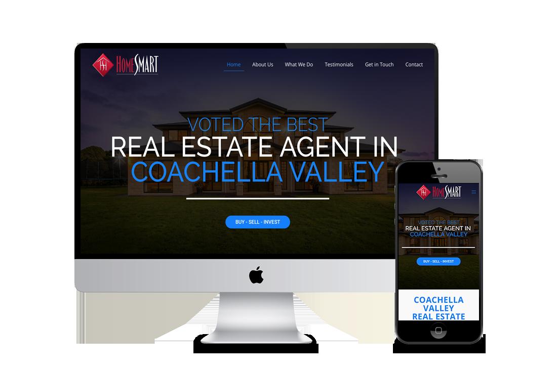 Real Estate Agent Web design Corona